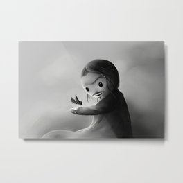 With fangs and love Metal Print