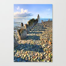 Pier from the Past Canvas Print