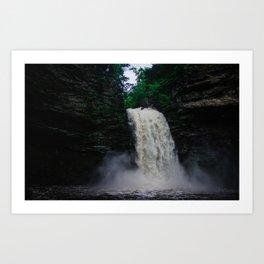 Cedar Falls Art Print