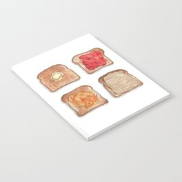 Breakfast & Brunch: Toasts Notebook