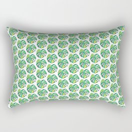 Monstera's leaf Rectangular Pillow