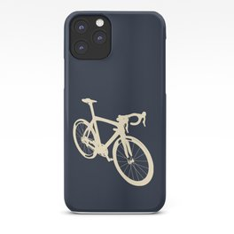 Bear riding bike with forest friends iPhone 11 case