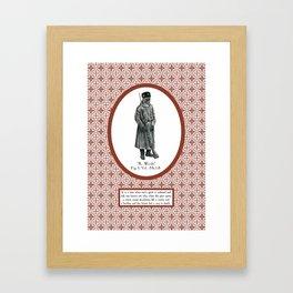 Civilian War Framed Art Print