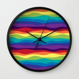 Color Flow Alt Wall Clock