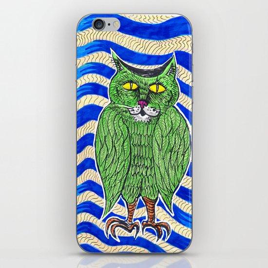 Catlearowl iPhone & iPod Skin