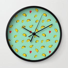 Taco Tuesday Wall Clock