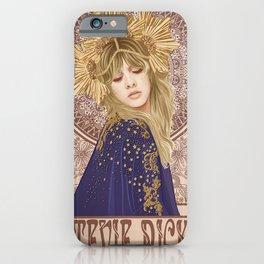 Stevie Nicks Poster, Fleet-wood Mac Poster, Wall Decor, Home Decor, Custom Poster, Custom Art, Living Room Decor, Hand Rock, Work Art iPhone Case