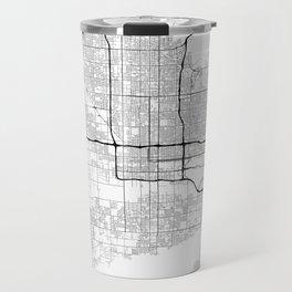 Minimal City Maps - Map Of Phoenix, Arizona, United States Travel Mug