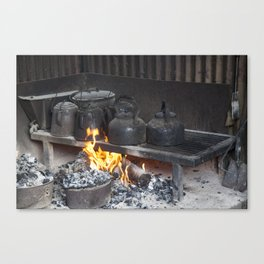Camp oven Canvas Print