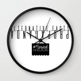 ResistGear: Alternative Facts = Propaganda Wall Clock