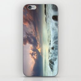 Sunrise sea sky 4 iPhone Skin
