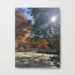 A Fall Day Somewhere in Ohio Metal Print