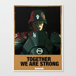 Together We Are Strong Canvas Print