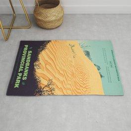 Sandbanks Provincial Park Poster Rug