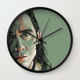 You will never see her again Wall Clock