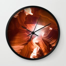 The Canyon (Color) Wall Clock