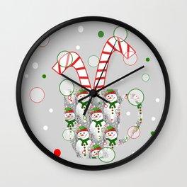 Taste Of Christmas Wall Clock