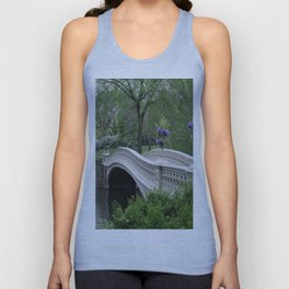 Bow Bridge Central Park New York Unisex Tank Top