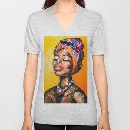 Black Magic Woman Unisex V-Neck