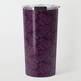 Meredith Paisley - Purple Travel Mug