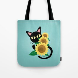 Whim with Sunflower Tote Bag