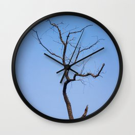 Dead willow Wall Clock