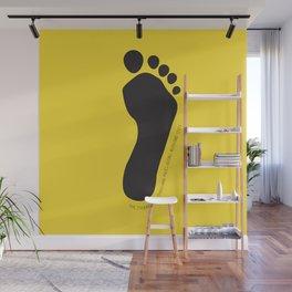 Footprint Wall Mural