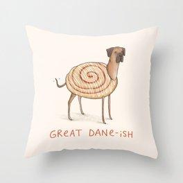 Great Dane-ish Throw Pillow