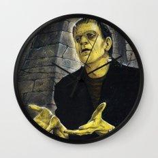 Frankenstein: LIGHT Wall Clock