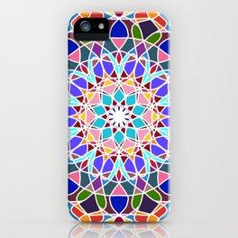 Mandala illustration iPhone Case