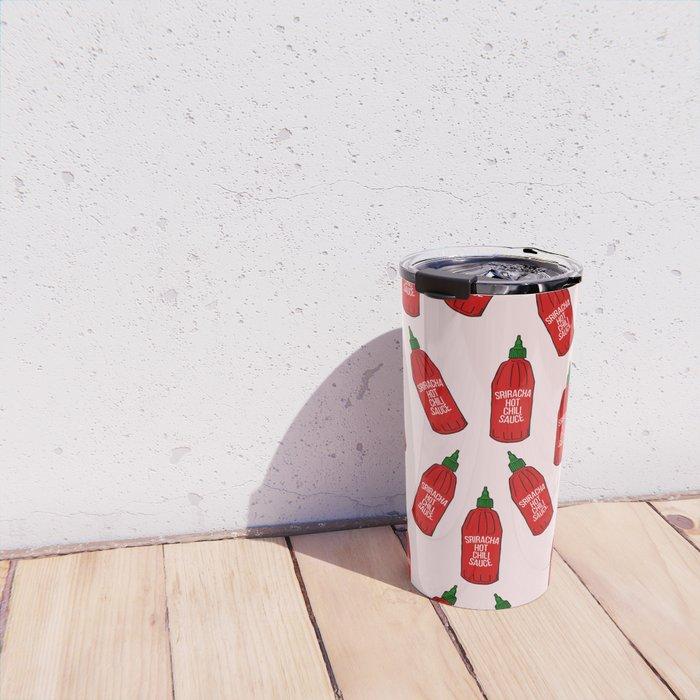 Hot Sauce Bottles Travel Mug