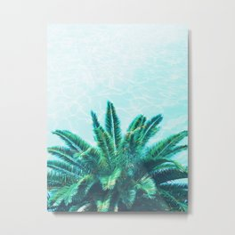Palm Chill! Metal Print