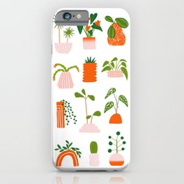 Houseplant Collection iPhone Case