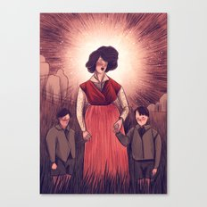 holy agnes Canvas Print