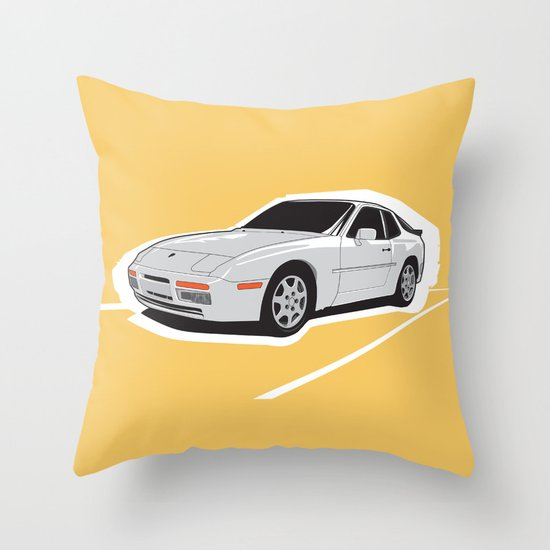 Turbo Driver Throw Pillow