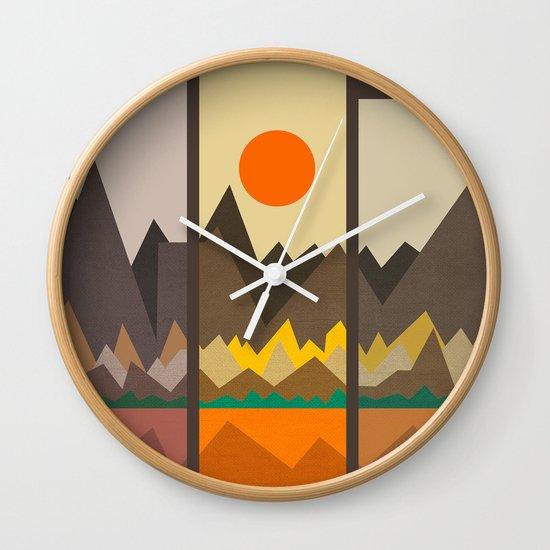 Textures/Abstract 108 Wall Clock