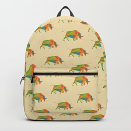 Fractal Geometric Bull Backpack