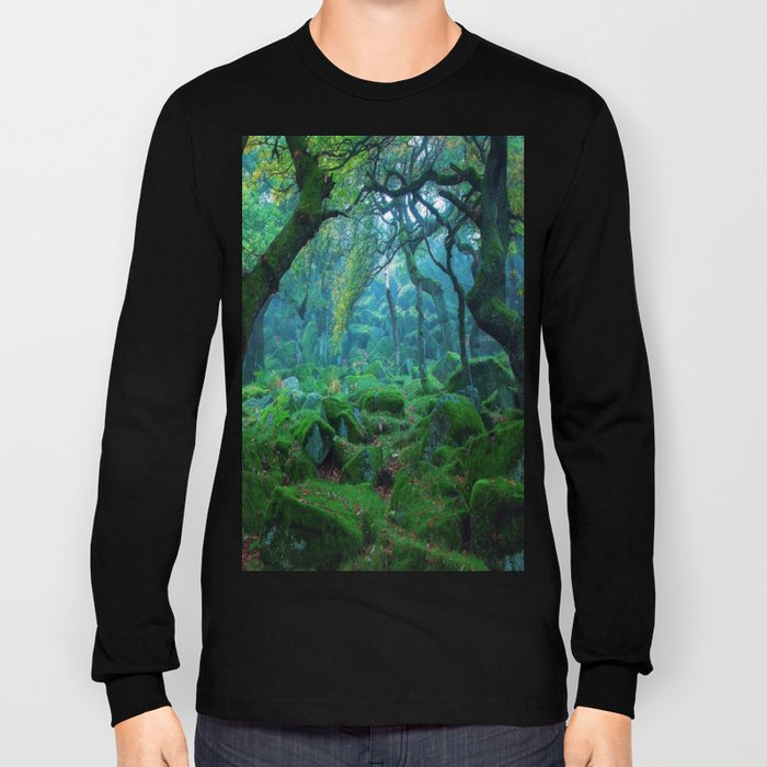 Enchanted forest mood Long Sleeve T-shirt