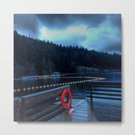 Cascade Lake II Metal Print