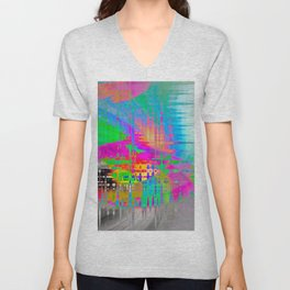 A Beautiful Mess Unisex V-Neck