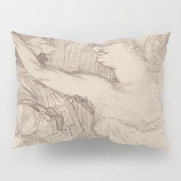 """Henri de Toulouse-Lautrec """"Guy et Mealy, dans Paris qui Marche"""" Pillow Sham"""