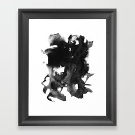 blckwtr Framed Art Print