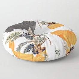 Botany || #illustration #painting #nature Floor Pillow