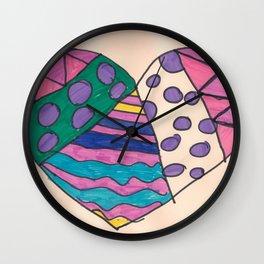 Love More Marker Wall Clock