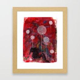 Chrysanthemum Two Framed Art Print