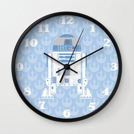 Blue Rebel Artoo Wall Clock