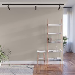 Light Taupe Solid Color Pairs with Sherwin Williams Alive 2020 Forecast Color - Touch of Sand SW9085 Wall Mural