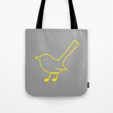 Foot Note Tote Bag