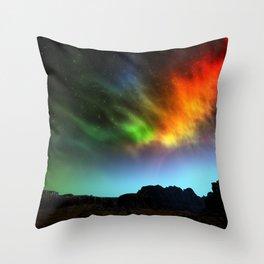 Fantasy Skies Throw Pillow
