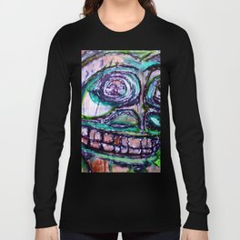 Sacred New Aiyansh, Nisga'a Totem Long Sleeve T-shirt